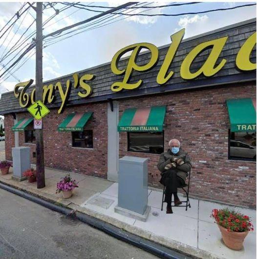 Bernie-at-Tonys-place
