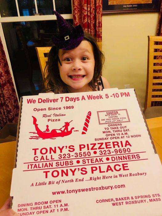 Tonys place pizza girl